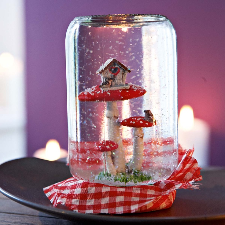 Diy snow globe collection snow globes pinterest