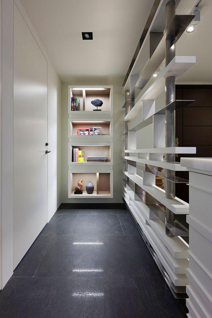 modern project design 17 Stylish Open Plan Apartment in Taipei Showcasing Futuristic Design Ideas