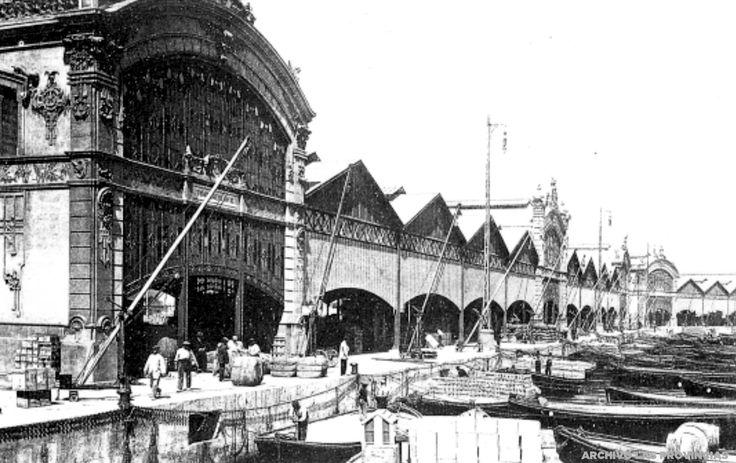 El ministro Amalio Gimeno inaugura las obras del dique exterior del puerto de Valencia | Valencia 1913