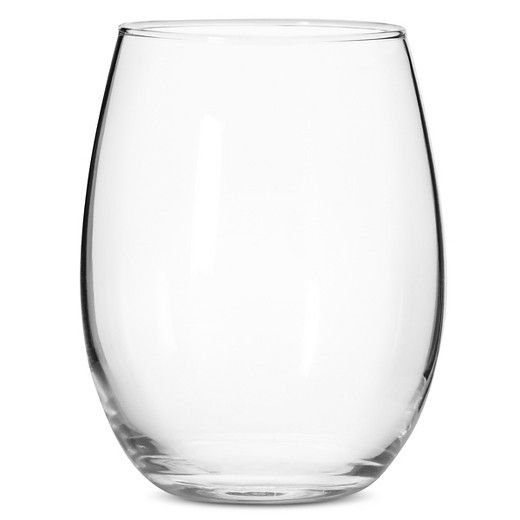 When you're looking for an elegant way to serve your favorite wine try this Threshold 12-pc. Stemless Wine Glass Set. The modern, stemless design fits any occasion, from everyday family meals to formal dinners. Whatever you're drinking, reds, whites, or something else, you can add a little class with this glass. Dishwasher safe.