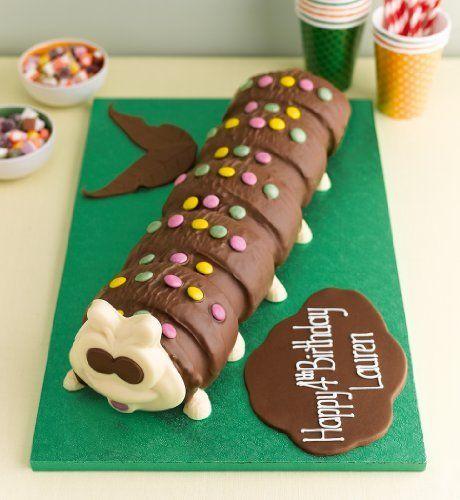 Giant Colin the Caterpillar Cake-Marks & Spencer