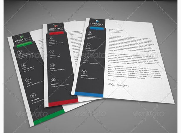 25 best letterhead templates for all types of business images on company letterhead design letter template sample altavistaventures Choice Image