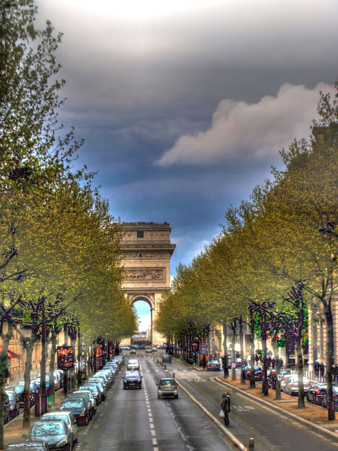 Paris - love strolling the Champs Elysees gazing at the magnificent & elegant architecture and the French w/their panache and flair!