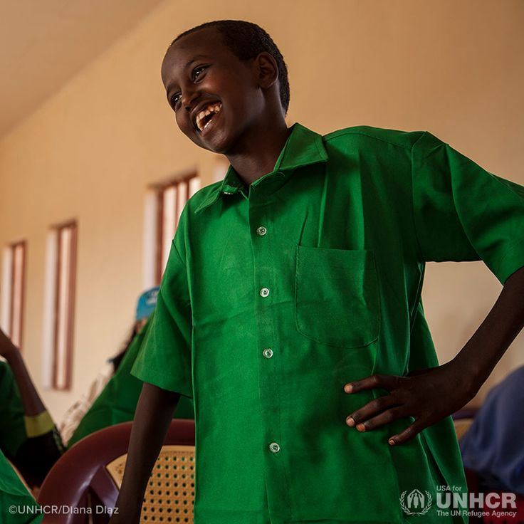 Mahamoud is a Somali refugee boy dedicated to his education. He dreams of being president of Somalia when he grows up. #UNHCR
