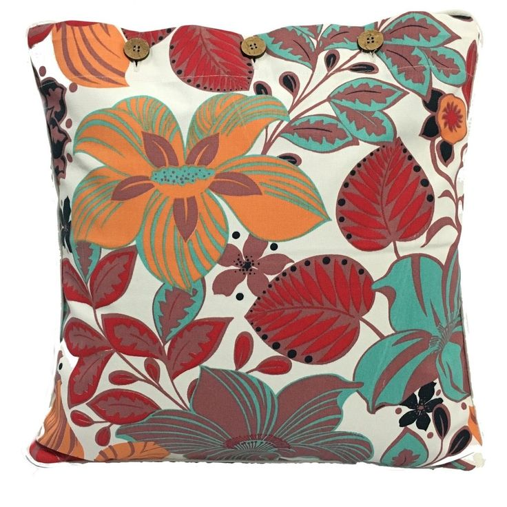 Hibiscus Red Cushion Covers