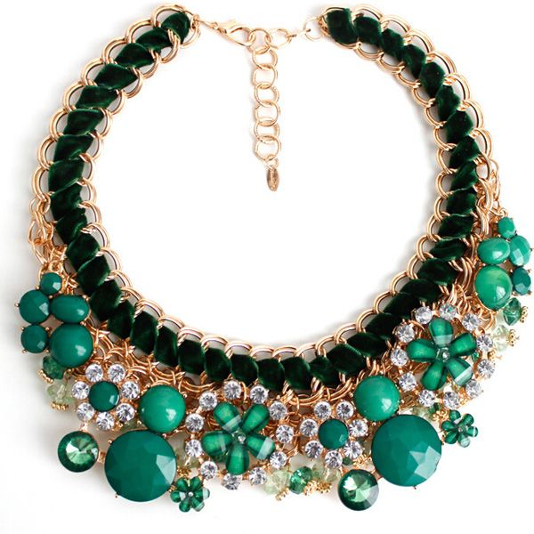 Pine Green Necklace