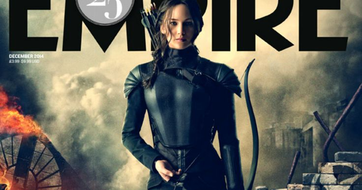'Hunger Games: Mockingjay Part 1' Empire Magazine Covers -- Jennifer Lawrence graces the latest cover of Empire Magazine as Katniss Everdeen, decked out in her full body armor. -- http://www.movieweb.com/hunger-games-mockingjay-photo-katniss-jennifer-lawrence