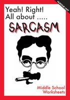 Sarcasm can be witty, but in the school environment it can be hurting. Use these lesson plans each your students to recognize sarcasm and to be careful with its use.  This is a starter pack of humour worksheets centred around the topic of Sarcasm.  Topics include: - Irony v Sarcasm - Sarcasm Detector - Sarcasm as Verbal Bullying