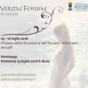 Da Matera fa tappa ad Amalfi la mostra Veritas Feminae, l'arte che pone in rilievo la forza della figura femminile. Fino al 16 luglio 2016 si avrà la possibilità di ammirare 61 artisti in mostra: pittura, scultura, fotografia, installazione. #arte #Donna #Amalfi