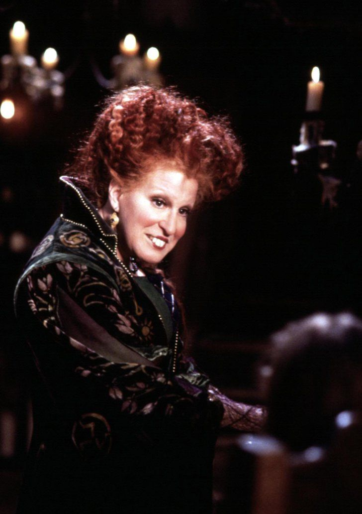 Pin for Later: 11 Things You Didn't Know About Hocus Pocus Bette Midler Has Said That Winifred Is One of Her Favorite Roles She has said it