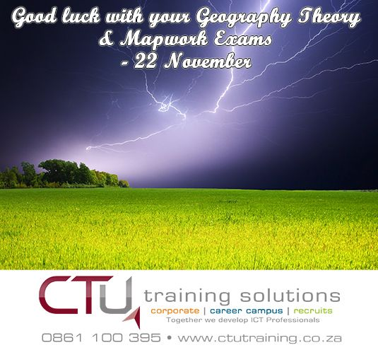 Good luck! www.ctucareer.co.za