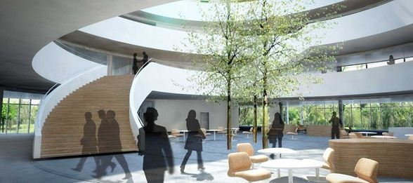 New Novo Nordisk HQ by Henning Larsen Architects #architecture