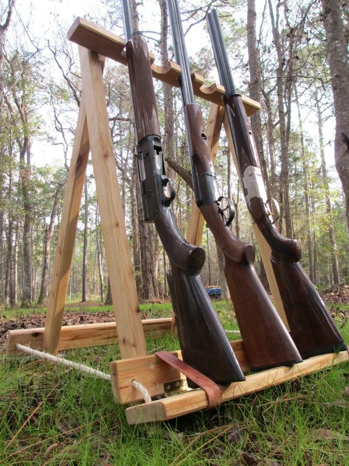 Gun Stand Designs : Free standing gun rack plans woodworking projects