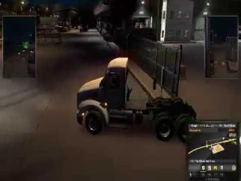 American Truck Simulator - Driving At Night - #ATS