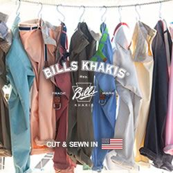 Shop Bill's for Colorful Khakis!
