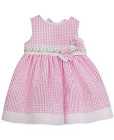 Rare Editions Gingham Party Dress, Toddler & Little Girls (2T-6X)