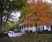 "Autumn on Monticello Mountain at Michie Tavern. The food is so good here I dream about it. Go to Virginina you all and eat at Michie Tavern just a half mile below Monticello. ""get a taste of the 18th century"""