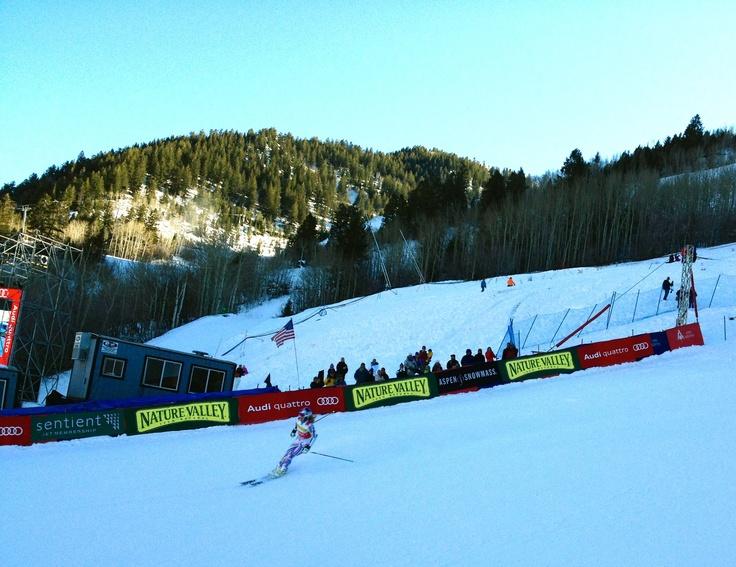 Lindsey Vonn, Aspen Winternational 2011 ©2012 Middle Aged Ski Bum