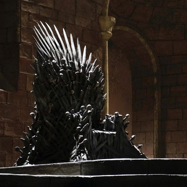 This custom chair is designed to mimic the seat of kings for Buy iron throne chair