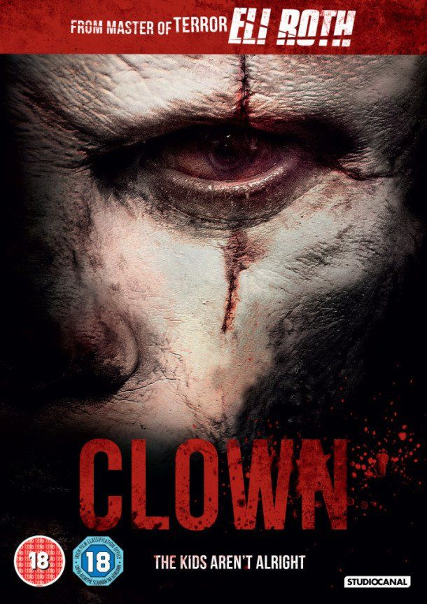 Director Jon Watts' and Eli Roth produced Clown (2014) is finally getting it's Blu-ray / DVD release date this upcoming March 2, 2015. I am hoping to add this horror film to my scary clown movies list, if it is scary enough. Eli Roth also stars as Frowny the Clown. Also starring in Clown are Peter Stormare, Laura Allen, Elizabeth Whitmere and Chuck Shamata. I really have high hopes for this scary movie and all promo material so far makes it look scary. What are your thoughts on Eli Roth's…