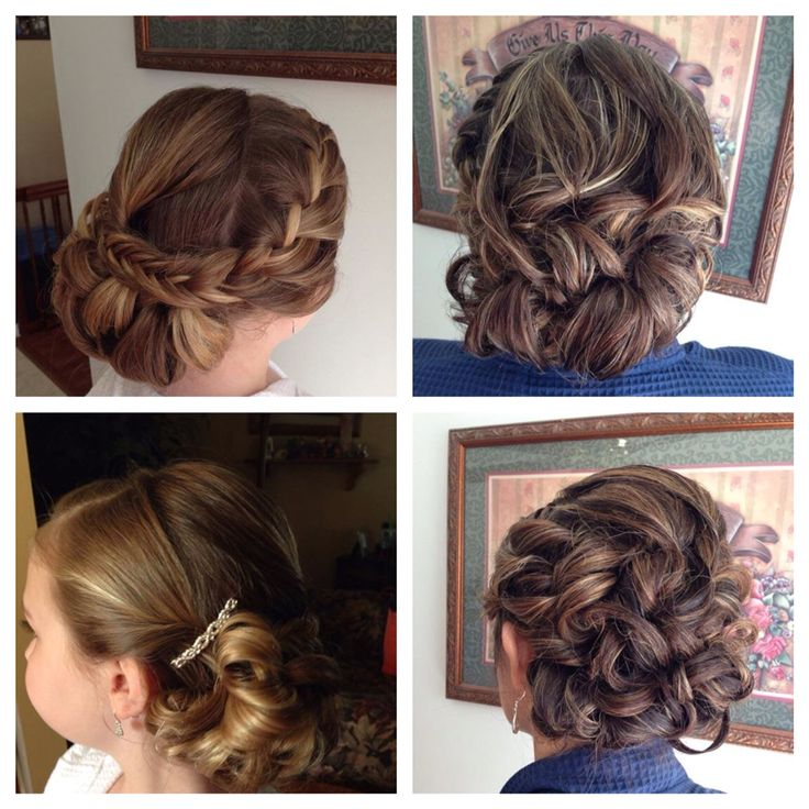 Wedding hair by Jena and Val