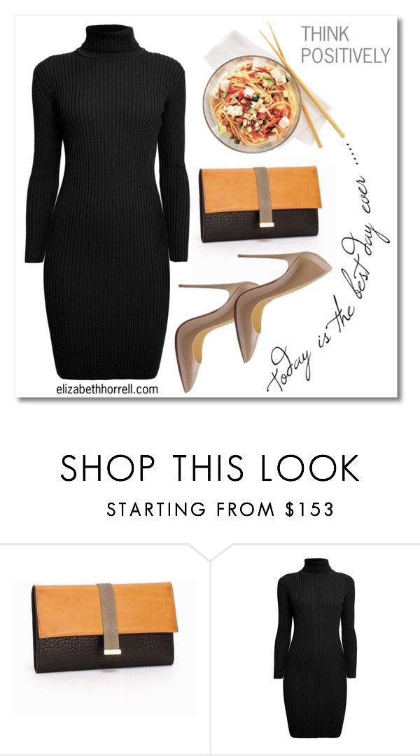 LIZ by elizabethhorrell on Polyvore featuring Rumour London, Tiger of Sweden and Christian Louboutin
