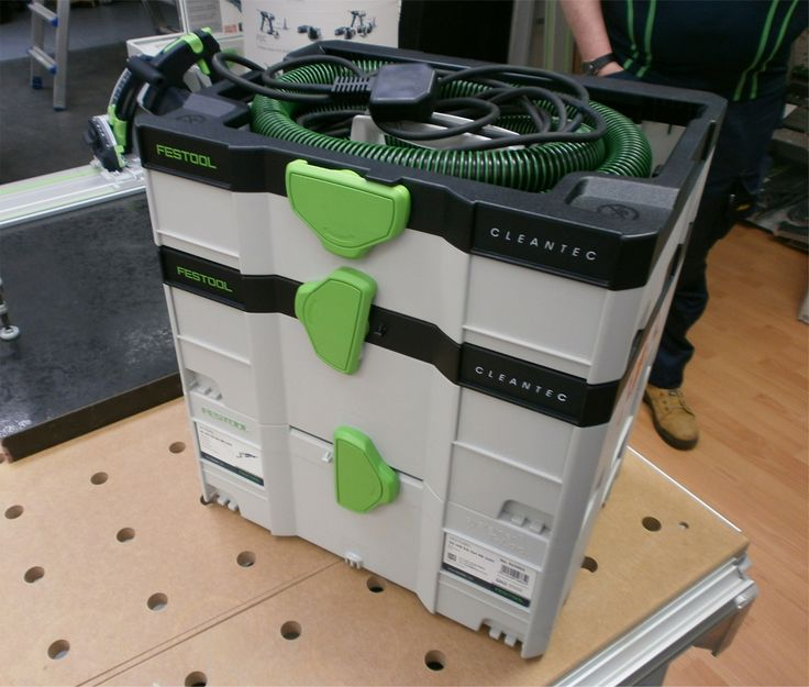 New Festool CTL SYS Systainer case and Dust Extractor in one!
