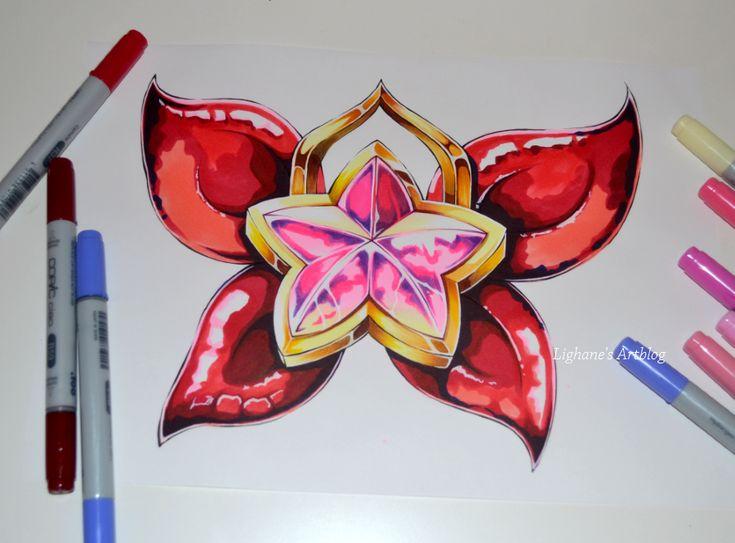Star Guardian Jinx Ribbon by Lighane.deviantart.com on @DeviantArt