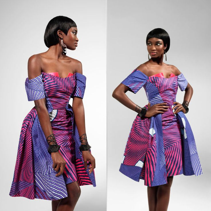 So Rare So Unique Vlisco African Fashion Ankara Kitenge African Women Dresses African