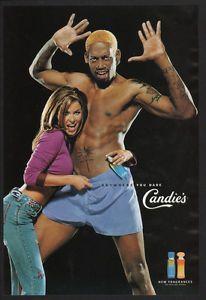 1999 Dennis Rodman Carmen Electra Candies Cologne Perfume Vintage ...