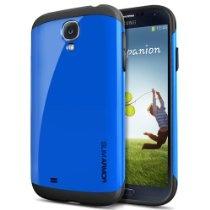 SPIGEN SGP Samsung Galaxy S4 Case Protective [Slim Armor] [Dodger Blue] Slim Fit Dual Layer Protective Case for Galaxy S IV Galaxy SIV i9500 $25.99