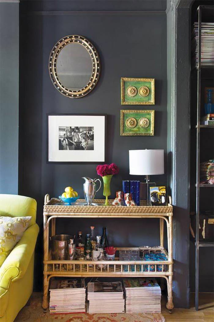10 salones pintados en negro que te van a convencer · 10 gorgeous black living rooms - Vintage & Chic. Pequeñas historias de decoración · Vintage & Chic. Pequeñas historias de decoración · Blog decoración. Vintage. DIY. Ideas para decorar tu casa