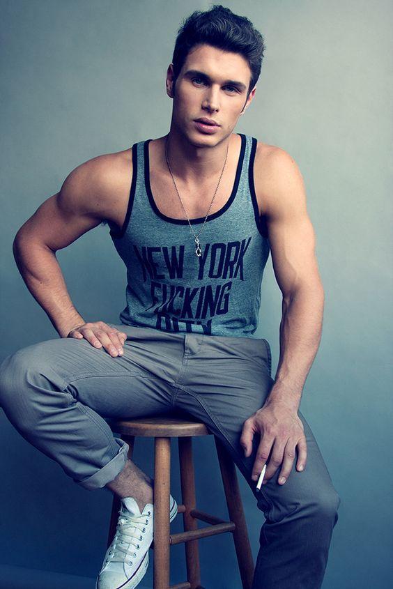camisa de tirantes para hombre,look urbano,outfits informales