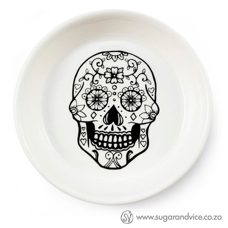 TAPAS BOWL - SUGAR SKULL by Sugar and Vice, for sale on http://hellopretty.co.za