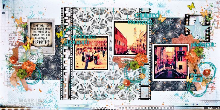 Double-page layout by Mare-Liez Oosthuizen