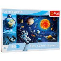 Vzdělávací puzzle Solární systém