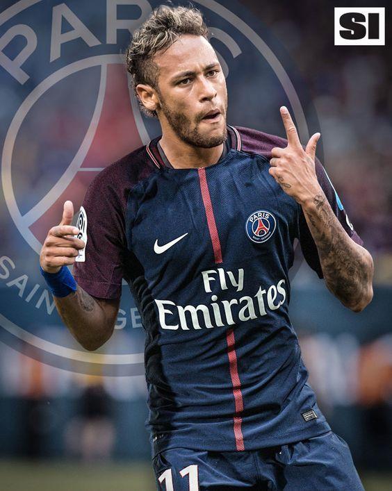 Neymar da Silva Santos Júnior, commonly known as Neymar or Neymar Jr., is a Brazilian professional footballer who plays as a forward for French club Paris Saint-Germain and the Brazil national team Born: 5 February 1992 (age 25), Height: 1.75 m Salary: 9.18 million EUR (2016) Current teams: Paris Saint-Germain F.C. (#10 / Forward), Brazil national football team (#10 / Forward) Did you know: Neymar has the world's third-largest sports contract ($270,000,000, with the Paris Saint Germain)