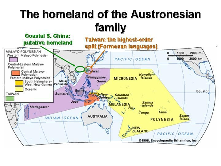 About Years Ago Austronesian Speakers Migrated Eastward - West pacific islands map 1998