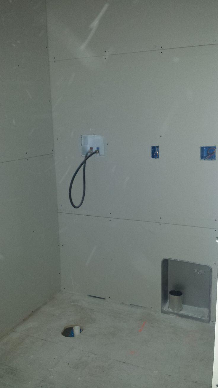Second Floor Laundry Room Under Construction Pinterest