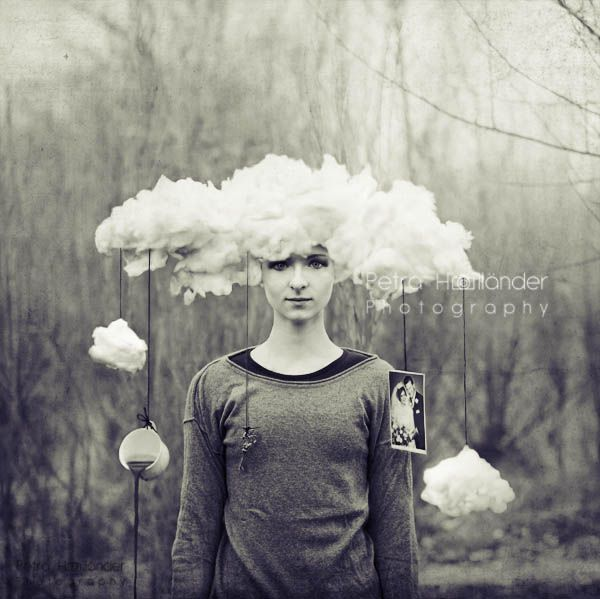 Head in the clouds by Nilanja