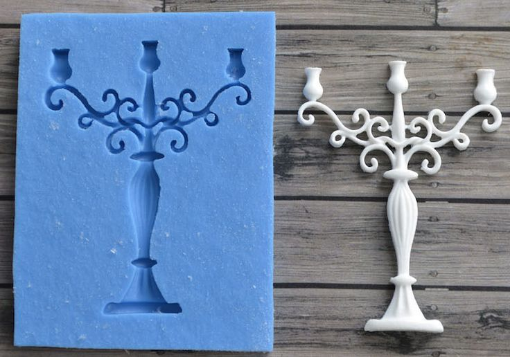 Model - Candlestick. 3D Silicone mold is used for making sweets and cake, baking, art. Silicone mold can withstand temperatures up to 250 degrees Celsius. This silicone mold can be used for the manufacture of food. | eBay!