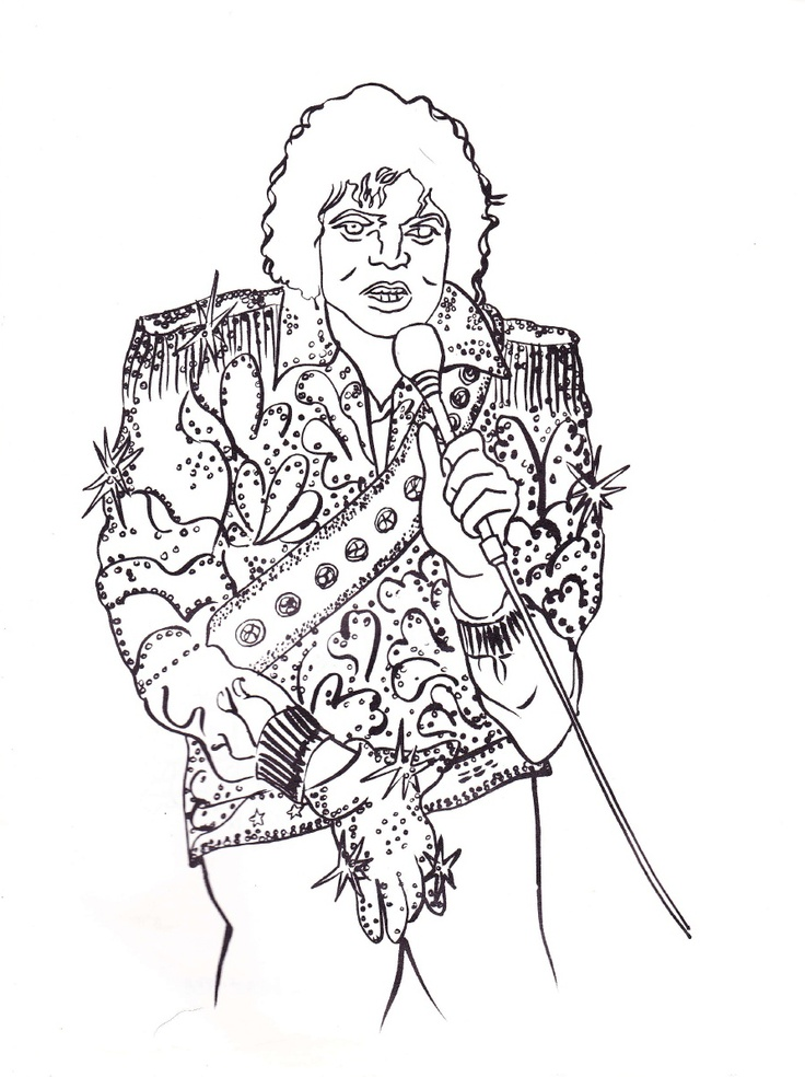 Page 23 Michael JacksonColoring Books