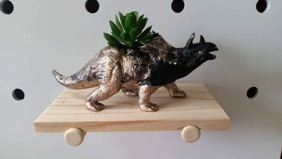 Fast becoming my fav creation! Hand painted by yours truly. Sealed to prevent water damage and colour run. Ready to be loved and for you to add your favourite plant/crayons etc.  Look so awesome in multiples/different colours and Dinosaurs, or our patterned range on their own. Wherever they find their home, they will definitely inject some quirk and personality.  Why not check our other ready to ship planters. Happy to combine postage.  Plant is not included, just for display purpo...