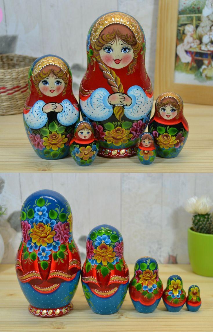 handpainted matryoshka