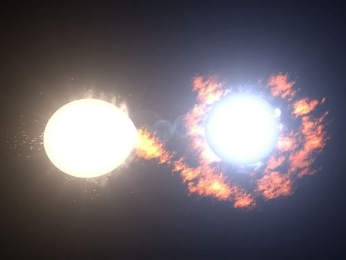 Algol, aka the Demon Star, is actually a binary star in the Perseus constellation, and has been discovered by a group of Finnish researchers to be  first noted by the Egyptians some 3200 years ago. It is one of the best known eclipsing binaries, the first such star to be discovered, and also one of the first (non-nova) variable stars to be discovered.