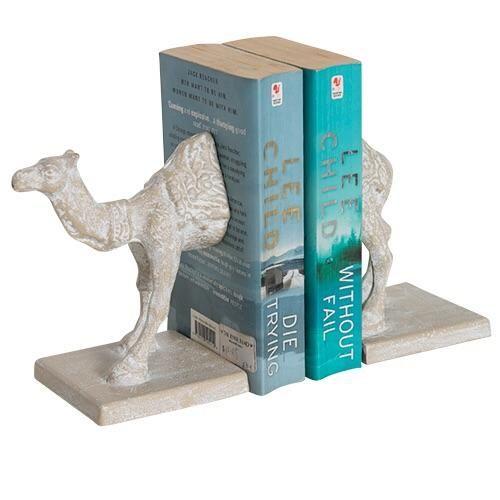 Camel Bookends - AC3884-Camel – Nest Maison Decor