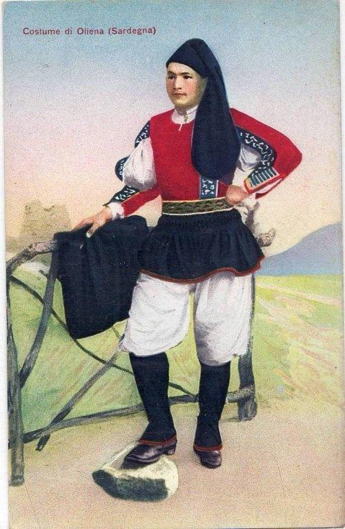 Costume-Sardo- Oliena