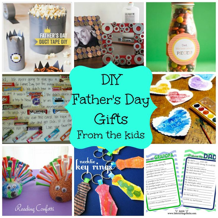 DIY Father's Day Gifts From