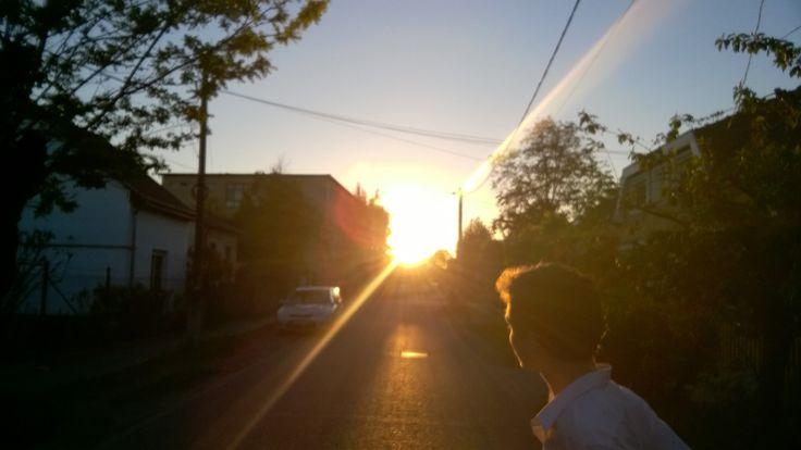 Where does the sun go?