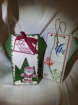 Bastelsteffi: Sommer oder Weihnachten?; Verpackung; Stampin up